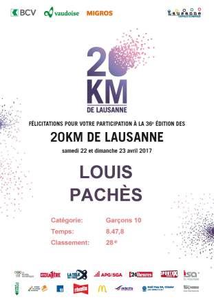 diplome Louis 20 km 2017